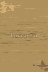 Шерстяной ковер Agnella Natural-10 Relief Way dark beige 1.2*1.7